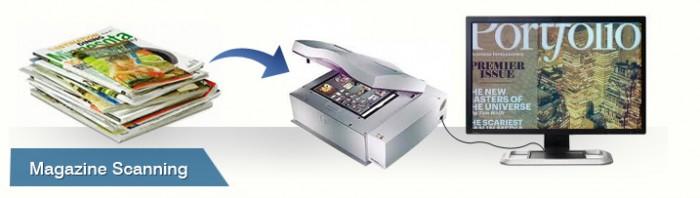 magazine scanning services