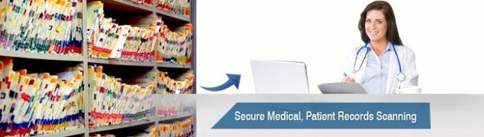 Patient Chart Scanning Services