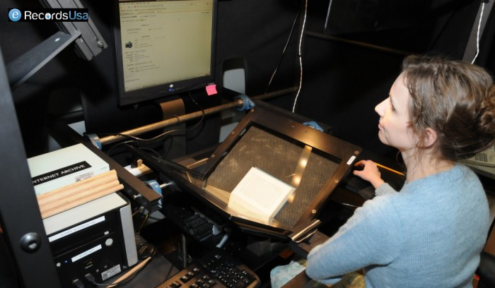 Digitizing Archival Material